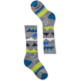Smartwool Wintersport Mountain Socken Kinder light grey